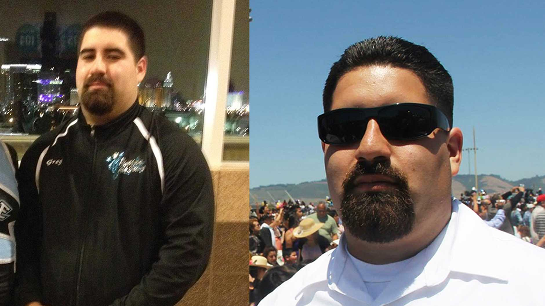 Gregory Uvalles, 23, of Watsonville, coaches cheerleading.