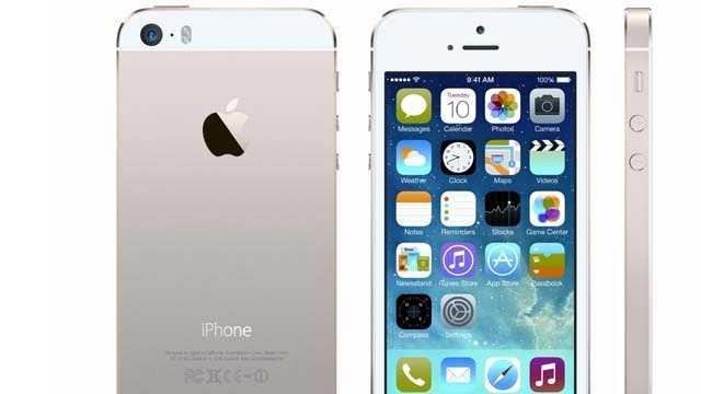 iPhone 5S debuts