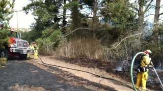 Firefighters battle blaze in Castroville