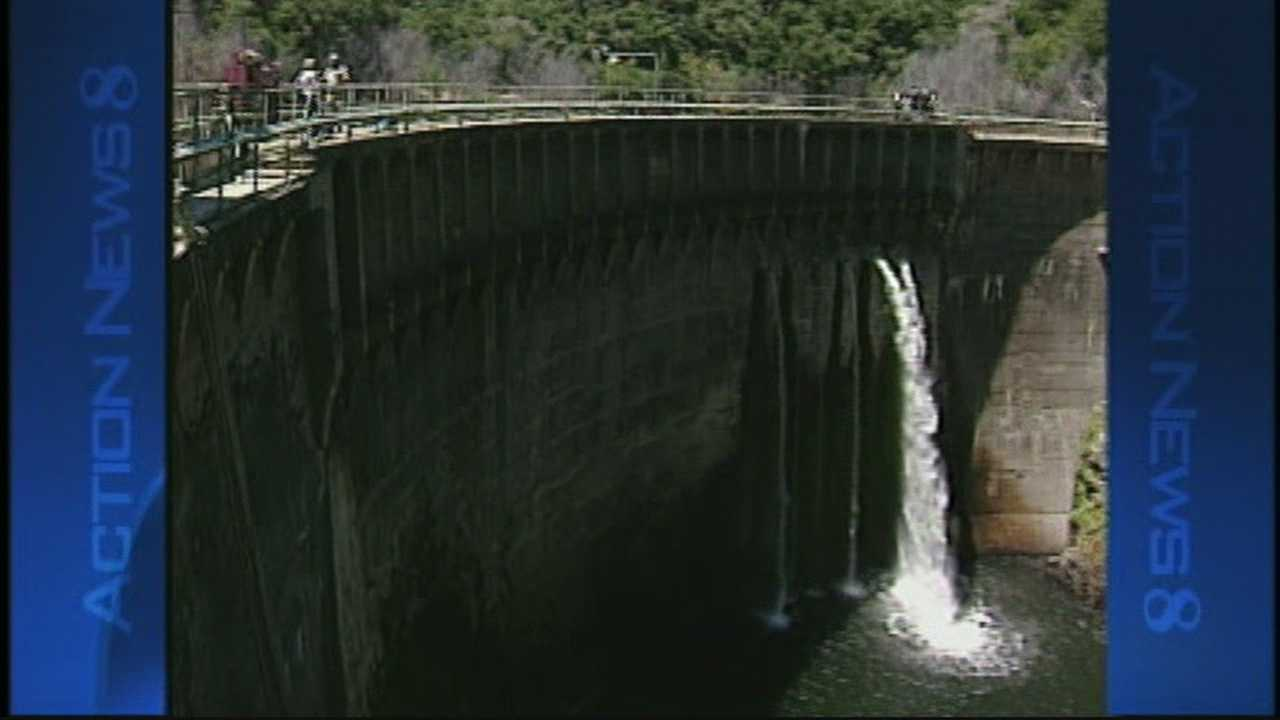 The San Clemente Dam will be the largest dam to be ever torn down in California.