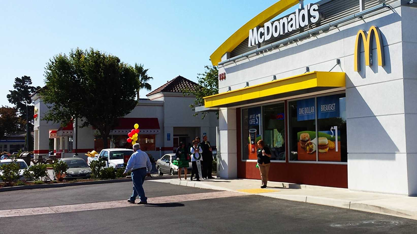 A new McDonald's opened right next door to In-N-Out in Salinas. (Oct. 8, 2013)