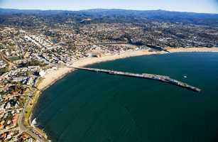 Some locals do not know that there used to be six wharves in Santa Cruz.
