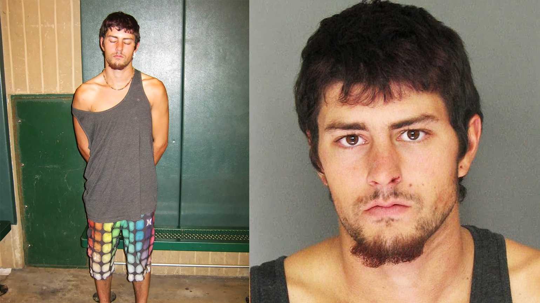 Daniel Sciucchetti, 18, is accused of stealing a puppy in Santa Cruz.