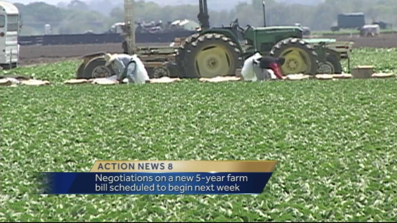 Salinas Valley farmers are worried that is a new farm bill is not hammered out by the end of the year, the existing bill could be extended yet again.