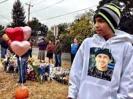Luis Diaz, 13, a close friend of Andy Lopez Cruz, said his best friend should not have been shot.
