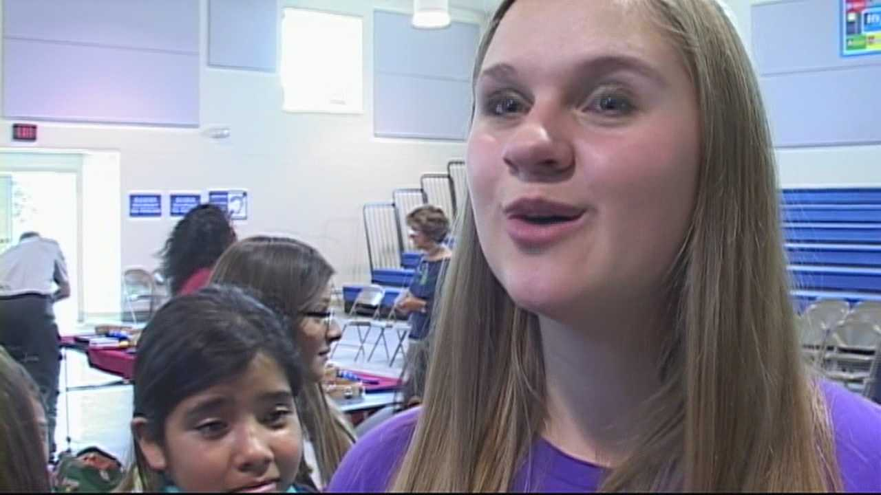 Students in Salinas and Hollister learned about how to handle bullies thanks to 15-year-old country singer Lizzie Sider.