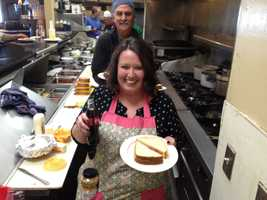 A cooking showdown at Mama Mia's in Gilroy featured fried bologna.