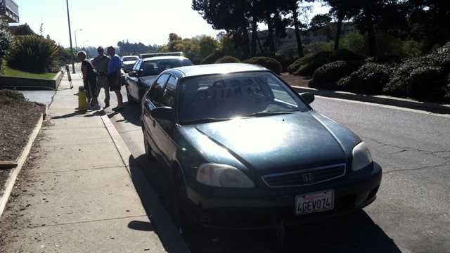 Stolen car found