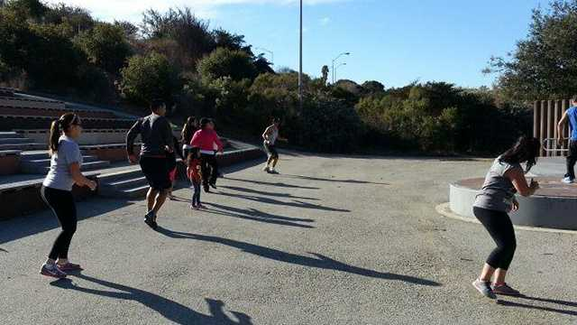 Salinas fit camp helps raise money for typhoon victims