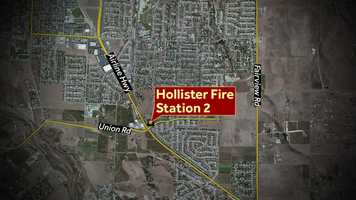Weatherman Jim Vanderzwaan will be in Hollister where he'll greet you at Fire Station #2 on Union Road at Airline Highway.