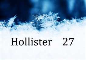 Hollister - 27 degrees