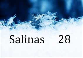 Salinas - 28 degrees