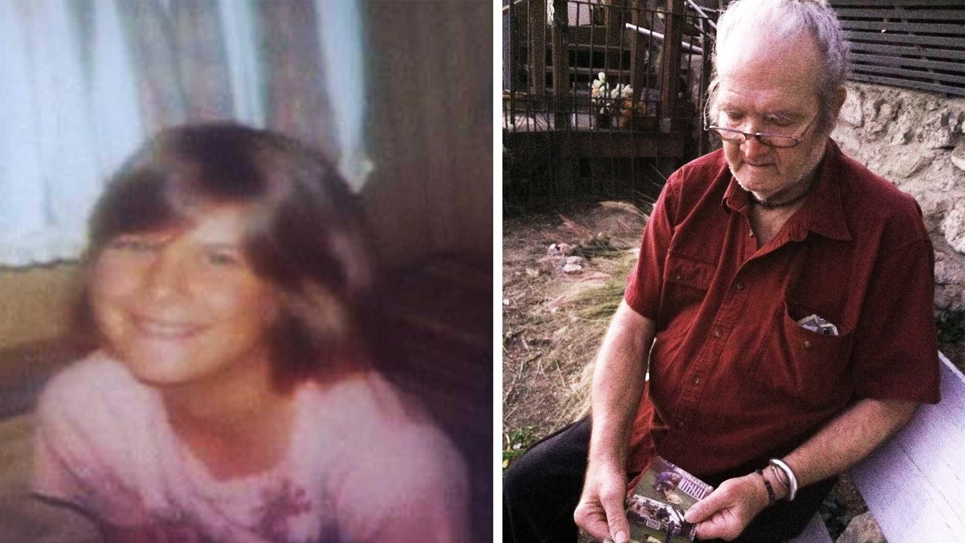 Tammy Jarschke, left, and her father, Gary Jarschke, right.