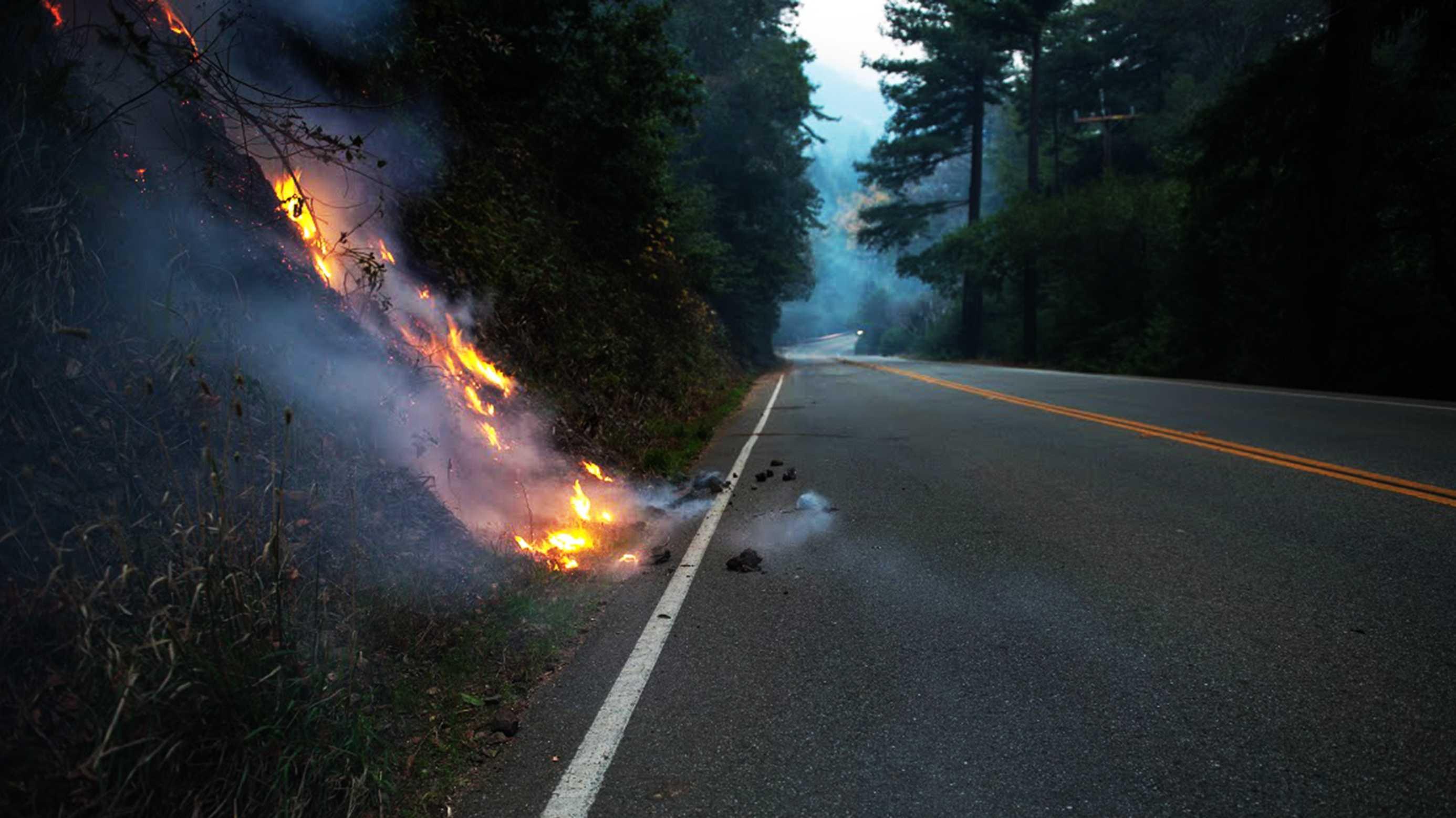 Big Sur embers