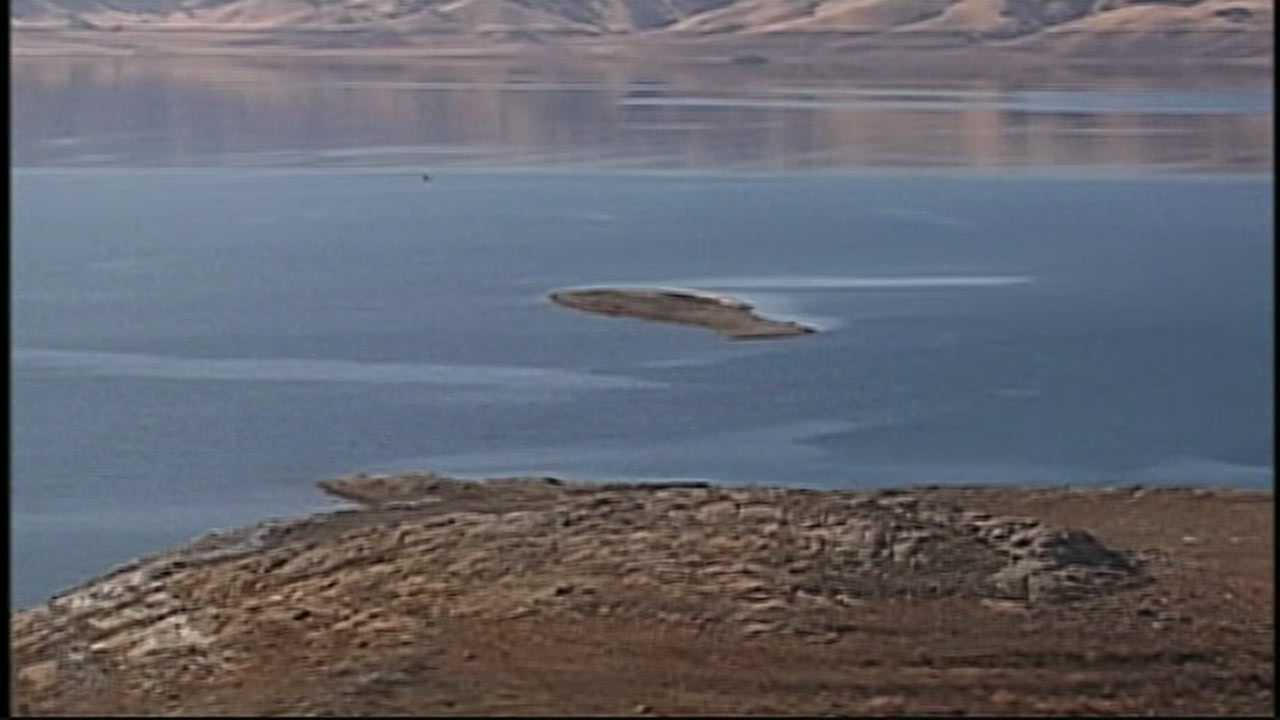 San Luis Reservoir low