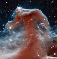 Horsehead Nebula - The Hubble Space Telescope took this breathtaking shot of the Horsehead Nebula.
