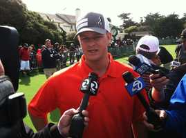 SF Giants Pitcher Matt Cain (Feb. 4, 2014)