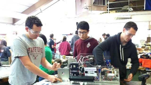 Robotics competition preps