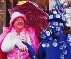 Fans of The Great Morgani are hoping he does not go the way of The Pink Umbrella Man. In 2009, the Pink Umbrella Manabandoned downtown Santa Cruz when he decided he would no longer stroll Pacific Avenue at a snail's speed with his umbrella and wide smile.