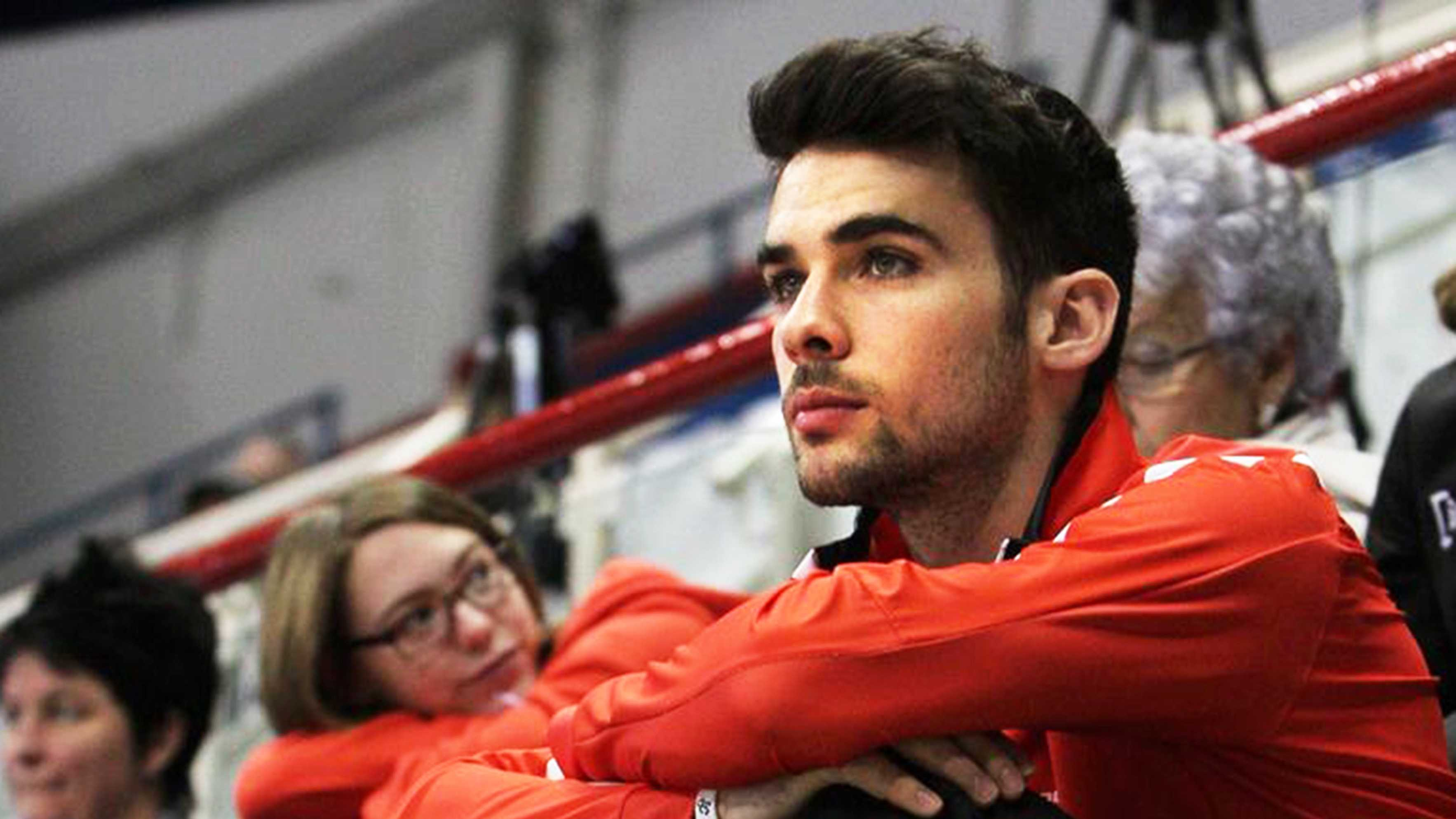 Francois Hamelin is a 27-year-old short track speed skater from Canada.