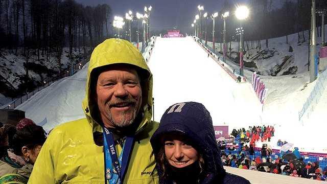 Family makes trip to Russia to cheer on Brita Sigourney