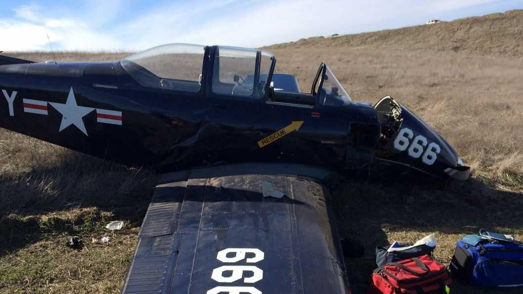 Hollister plane crash