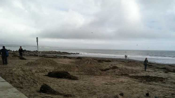 Capitola after weekend storm