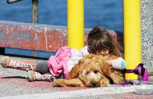 Ulocal user Bj_Rickard shot these photos of a girl and her dog sitting on the Monterey wharf Sunday. Upload and share your photos with KSBW here or go to ulocal.ksbw.com