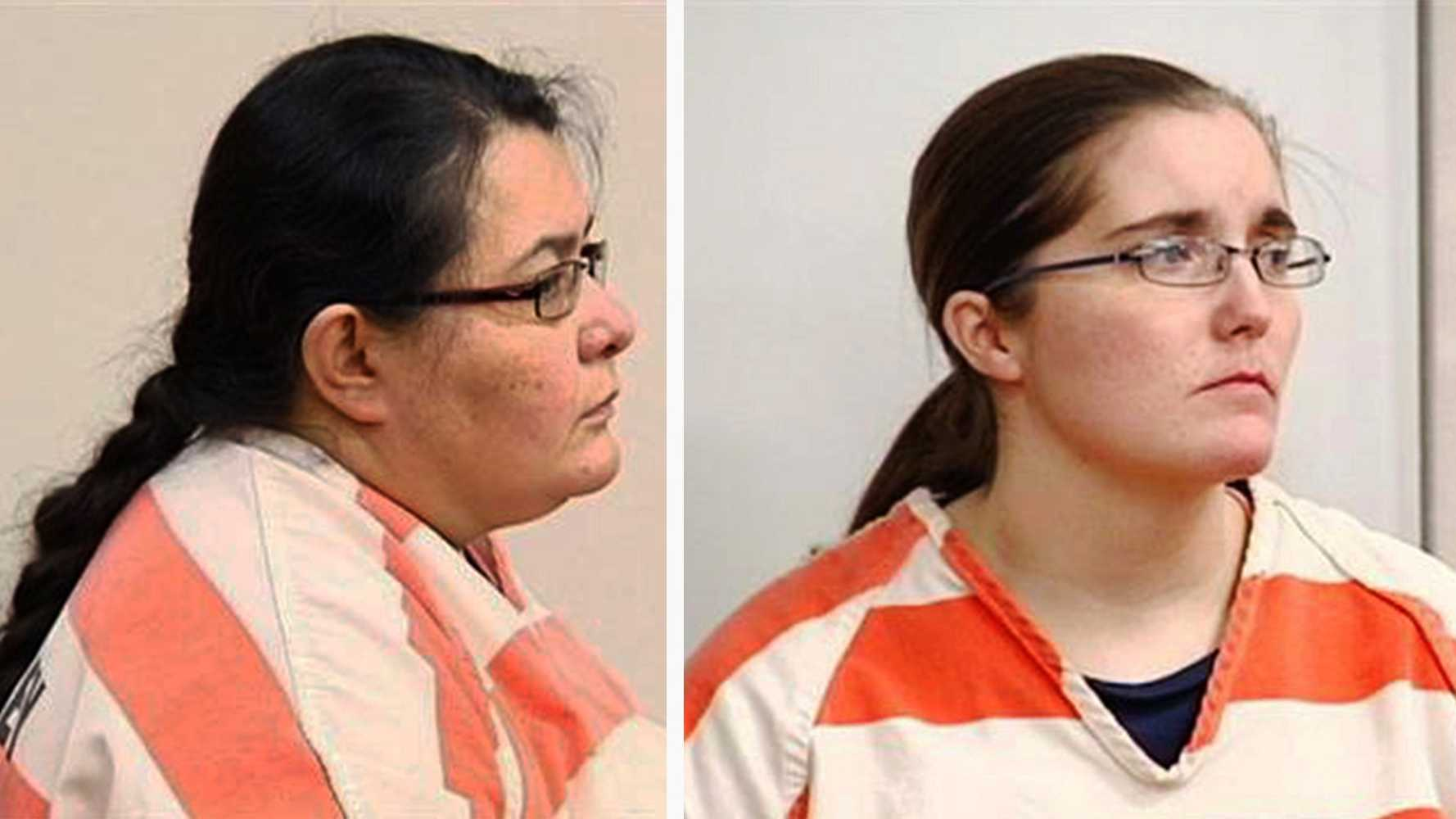 Christian Jessica Deanda, left, and Eraca Dawn Craig, are seen in court on March 26, 2014.