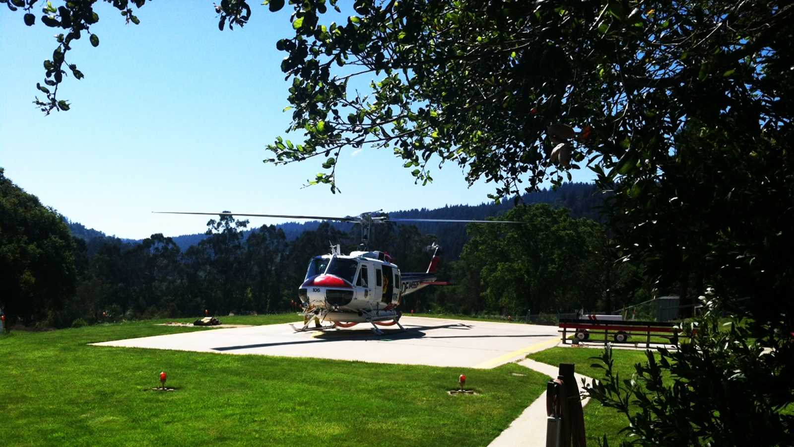 Cal Fire helicopter (April 10, 2014)