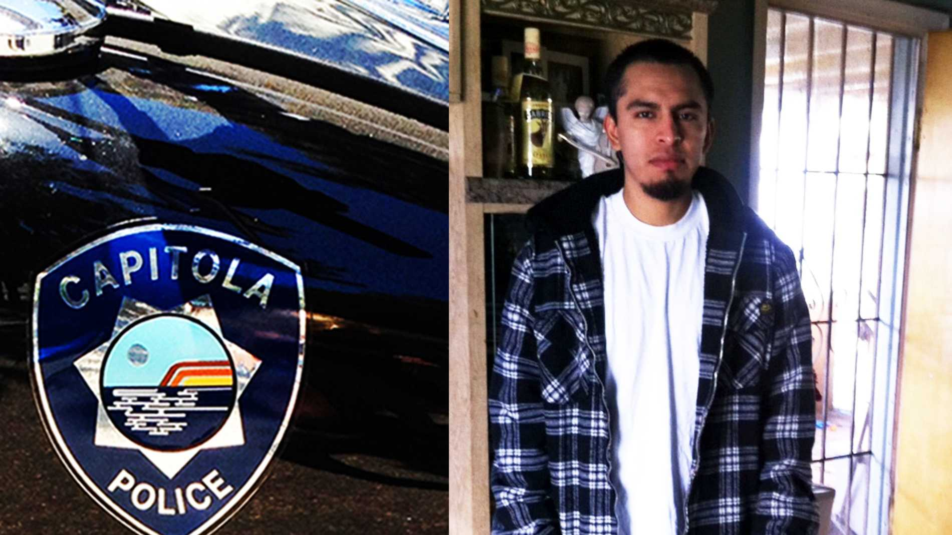 Alberto Julian Mendez is wanted by Capitola police on an attempted homicide charge.