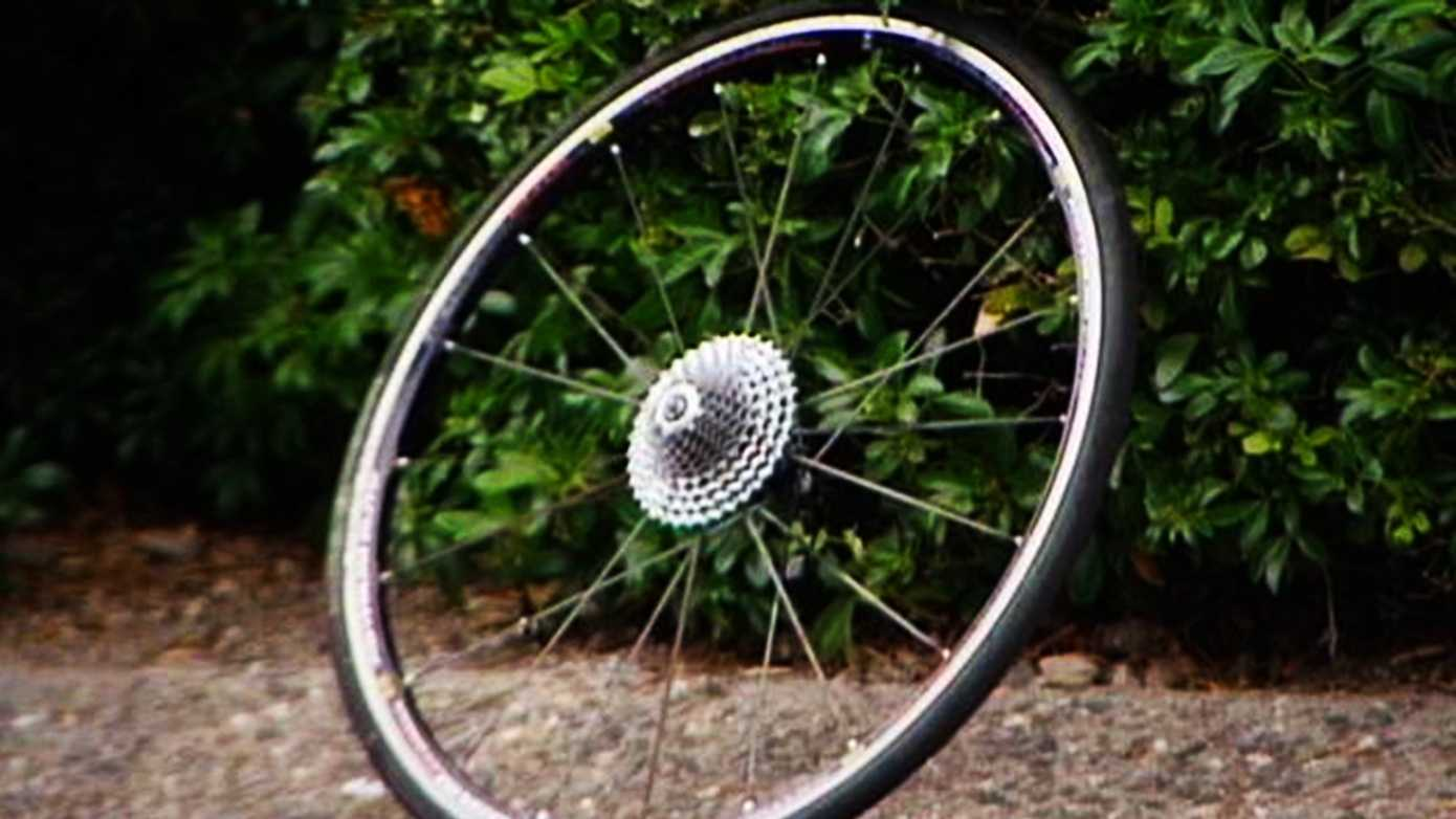 Michael Reeves' bicycle is seen here onLaureles Grade Road.(June 21, 2014)