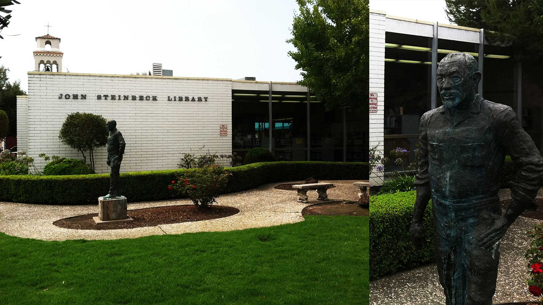 John Steinbeck Library in Salinas