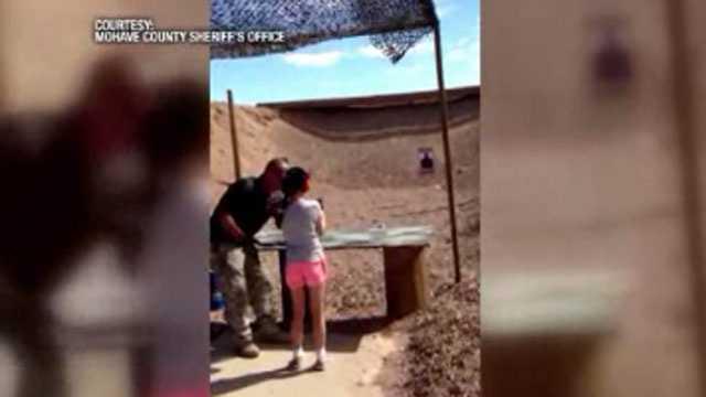 Girl kills gun instructor