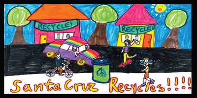 Drawing by Reva Beltran, 5th grade, De Laveaga Elementary School