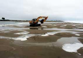 Despite the breach, Pajaro Dunes residents said flooding was still a major problem because crews did breach it soon enough.  Dec. 10