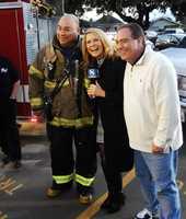 Dan Green, Erin Clark, and Dan Green! This fireman's name really is Dan Green.