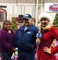 Farmer Dick Peixoto of Lakeside Organic Gardens very generously donated $25,000 at KSBW's Watsonville Share Your Holiday site.