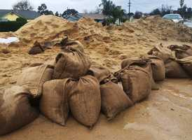 On Dec. 15, this man was out in Salinas making and giving away free sandbags for residents who needed them.