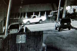 Detectives released surveillance images to the public in hopes that someone will recognize the truck and know who was driving it.