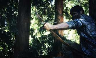 Hodges has an outdoor adventure school in the Santa Cruz mountains, Adventure Out, where he teaches primitive survival skills used by Native Americans, including hunting with a bow and arrow and building a fire. He's instructed teenagers and younger adults at Adventure Out for the past 10 years.