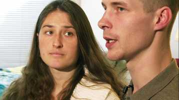 Cleve Goheen-Rengo, 23, and Erica Carey, 29, went on the run when they lost custody of their twin babies and toddler because of serious health concerns raised by Child Protective Services, Washington police said.