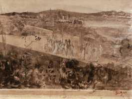 Degas, Cortege aux Environs de Florence