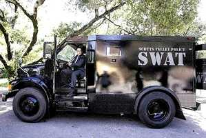 Scotts Valley: SWAT truck