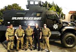 Salinas: Mine-Resistant Armored Vehicle