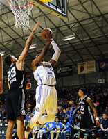 The Santa Cruz Warriors defeated the Austin Spurs, 97-83, in Game 3 of the Western Conference Finals Monday night to advance to the NBA D-League Finals for the third straight time.
