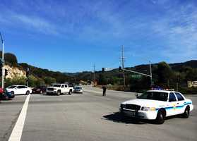 Traffic was diverted off Highway 68 for one hour.