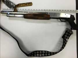 Alejandro Campos Fernandez's shotgun