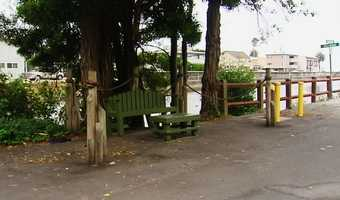 The bench was near Rio Del Mar beach, where investigators said a party took place the night of the crash, and a few block from the crash scene.