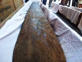 No one knew what happened to the boards until they were recently found at the Bishop Museum in Honolulu.